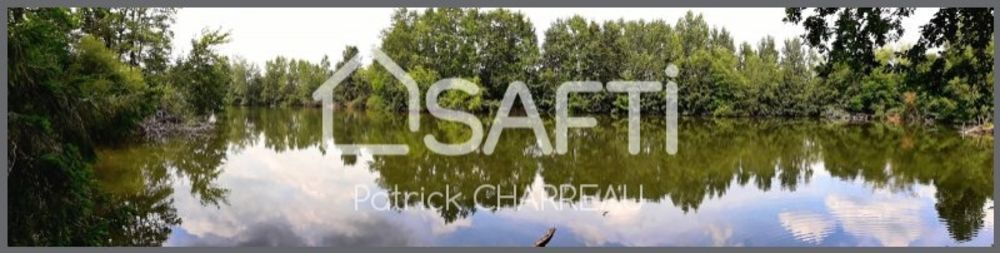 Vente Terrain Terrain de loisir avec un étang  à Saint-pantaleon-de-larche