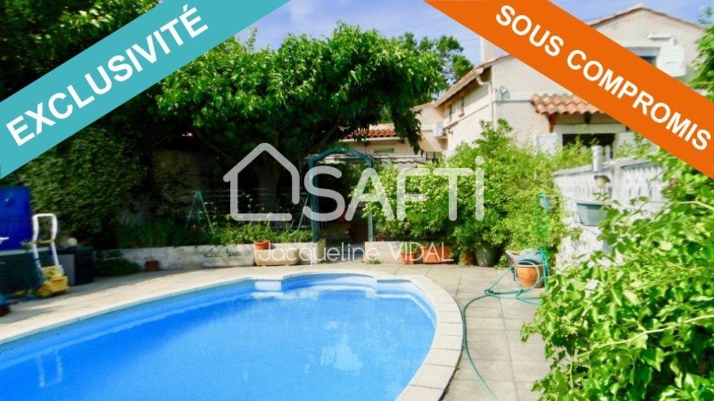 Vente Maison Les Olives - Maison T3/4 de 100m², sur 706 m² de terrain avec garage et piscine Marseille 13