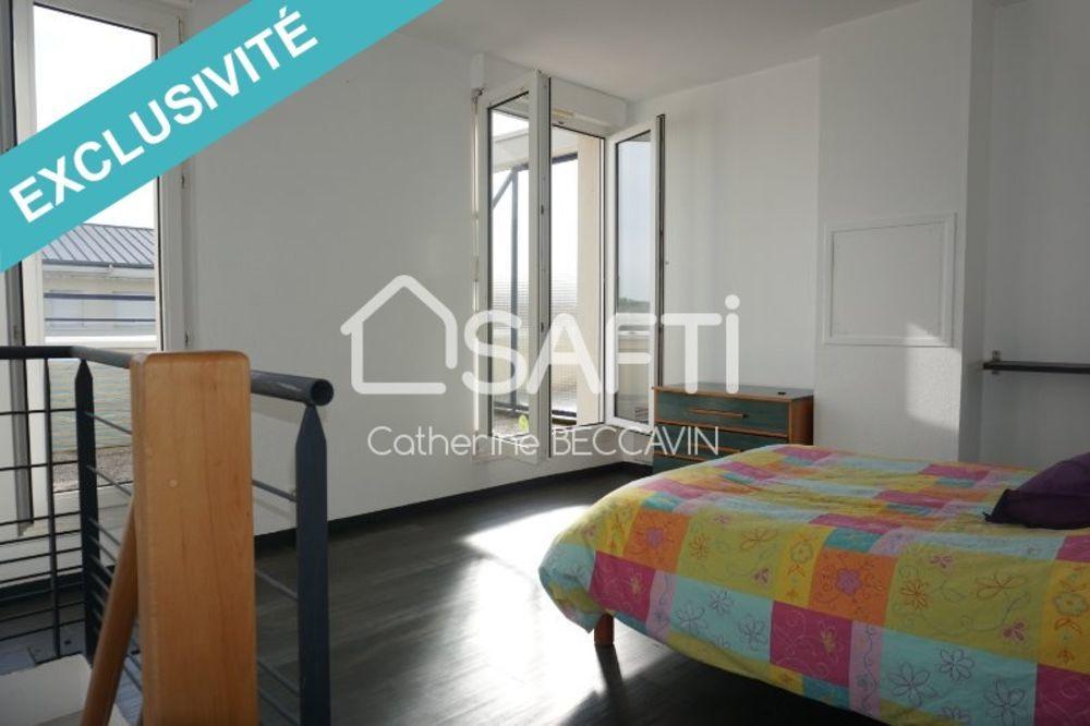 Vente Appartement T2 en duplex au dernier étage avec terrasse!!  à Caen