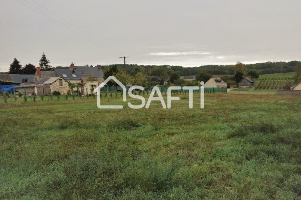 Vente Terrain Superbe terrain à bâtir de 1755 m2  à Ingrandes-de-touraine