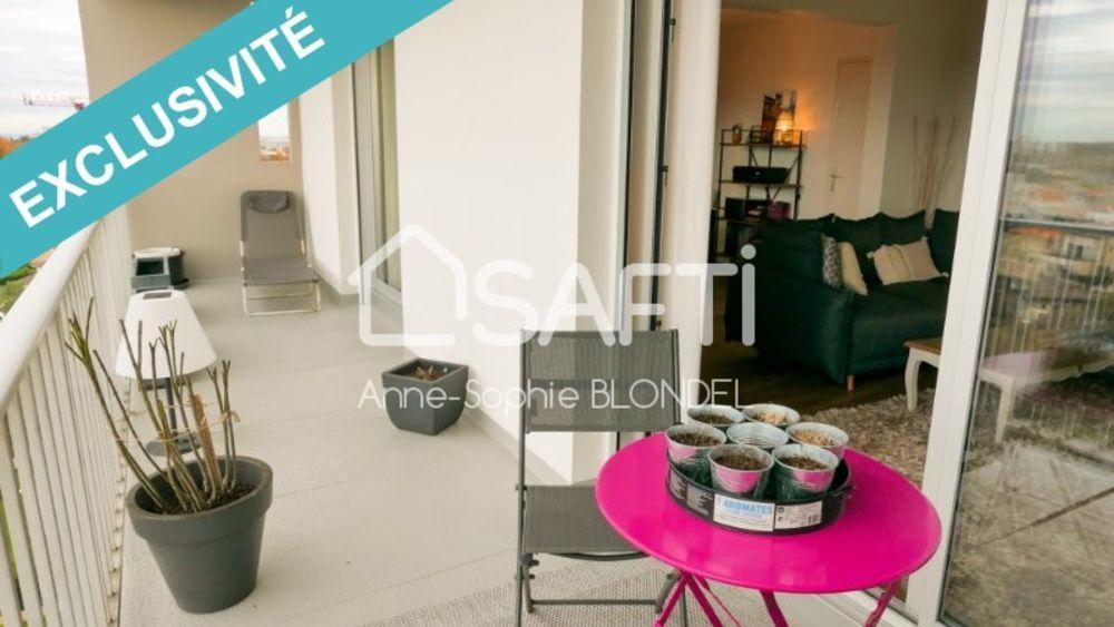 Vente Appartement CAUDERAN STEHELIN Appartement 75m2 terrasse 16m2 Bordeaux