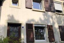 Maison jumelée 4 pièces avec jardin Quartier Barbanègre 136000 Mulhouse (68100)