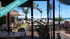 Fonds de Commerce de Restaurant Bar Brasserie à Fréjus Plage très bien placé face à la Mer. 100000
