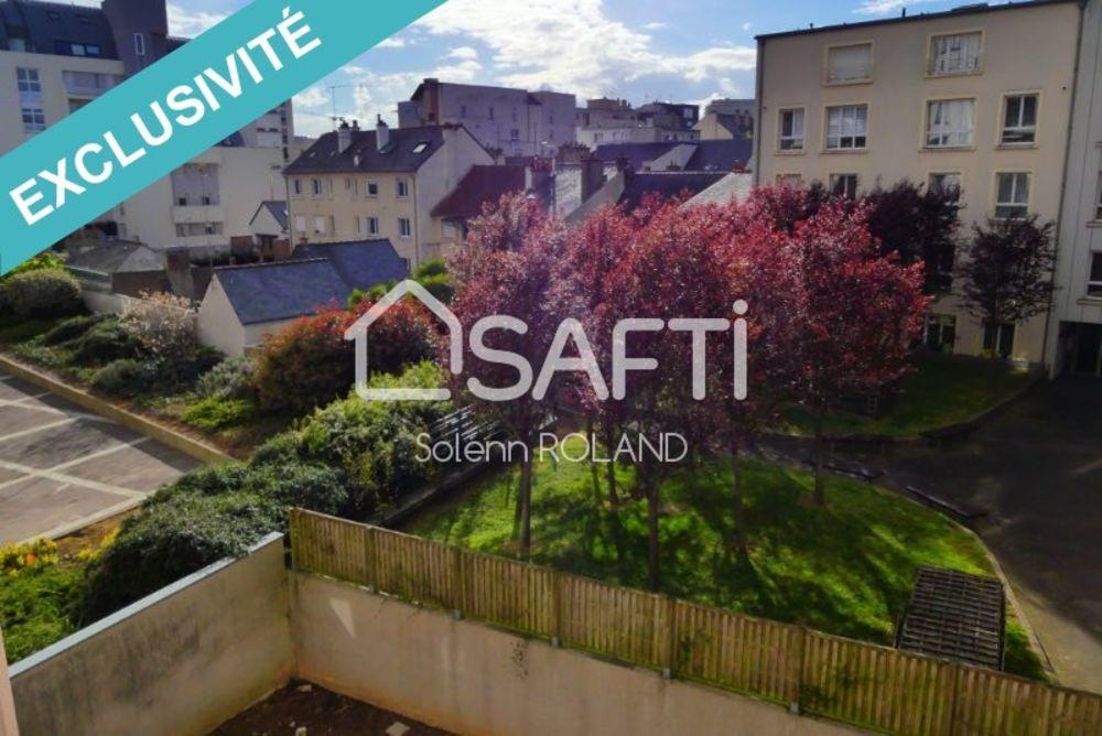 Vente Appartement Appartement T4 quartier St Hélier  à Rennes