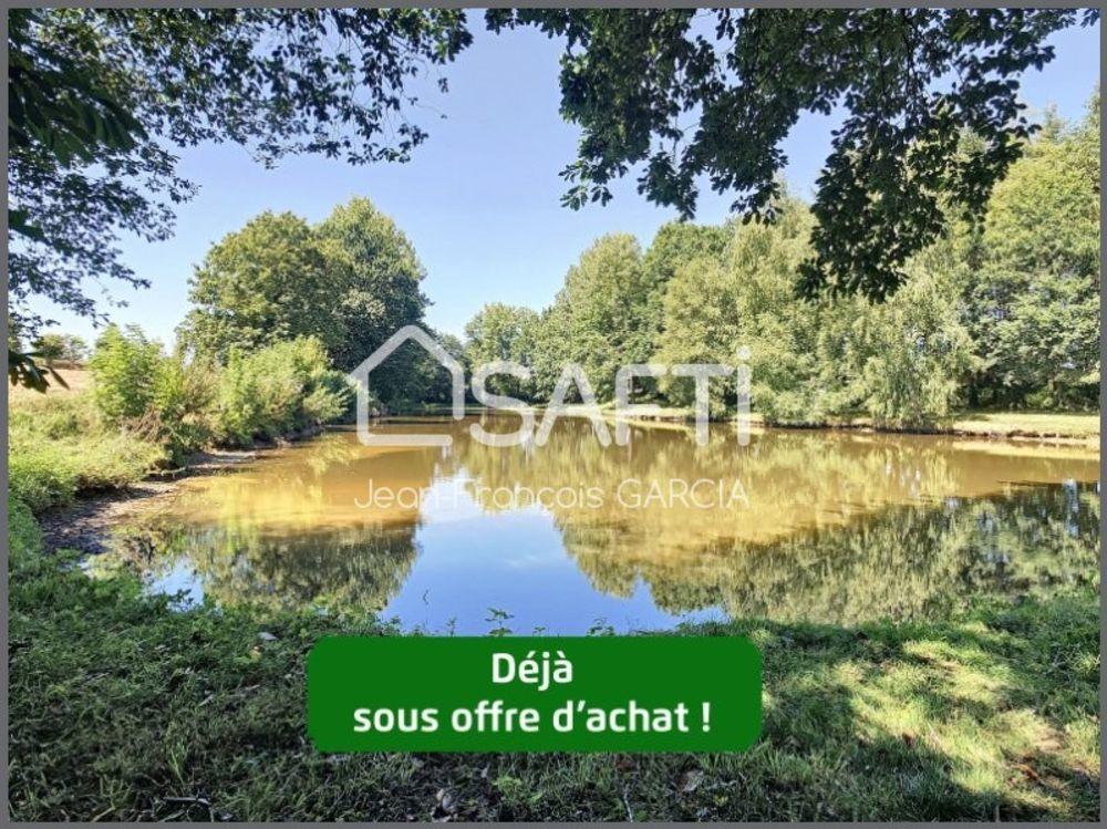 Vente Terrain Très beau terrain  de plus d'un hectare avec un étang de 6 000m²  à Plelan-le-grand