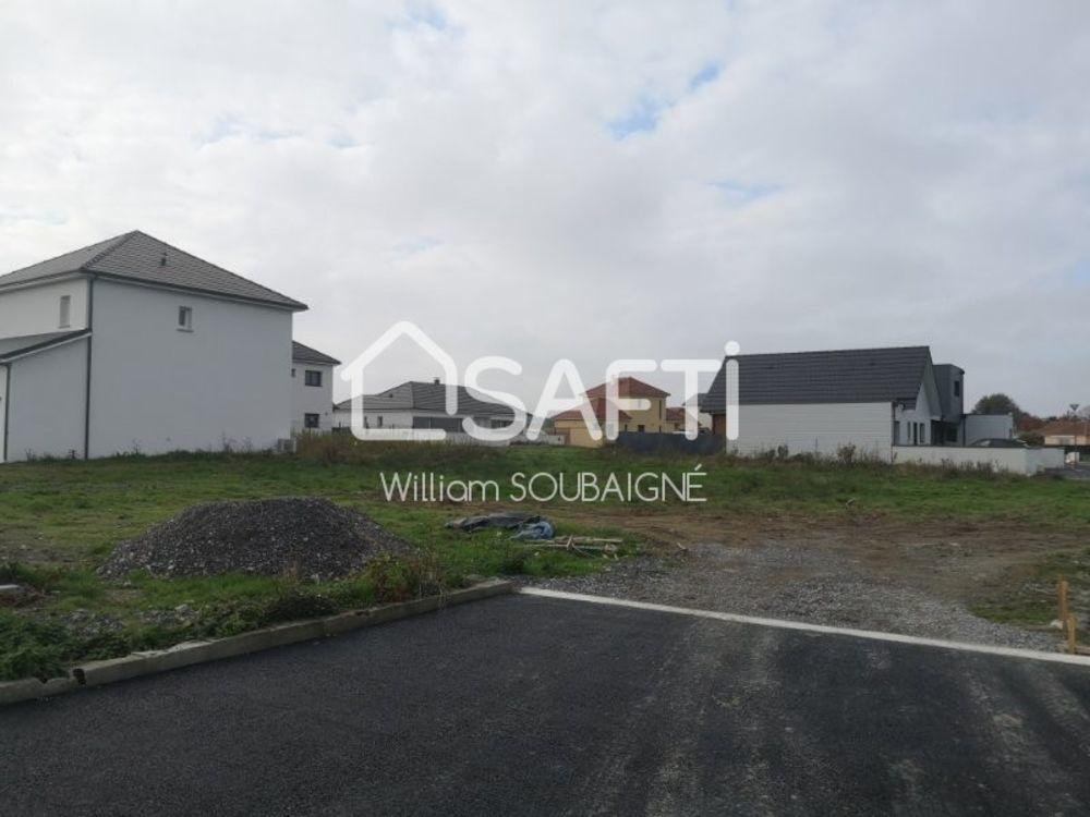 Vente Terrain terrain de 501 m² viabilisé, plat Pau
