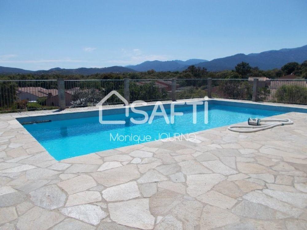 Vente Maison Villa 11 pièces avec piscine et terrain de 2000 m2  à Sainte lucie de porto-vecchio