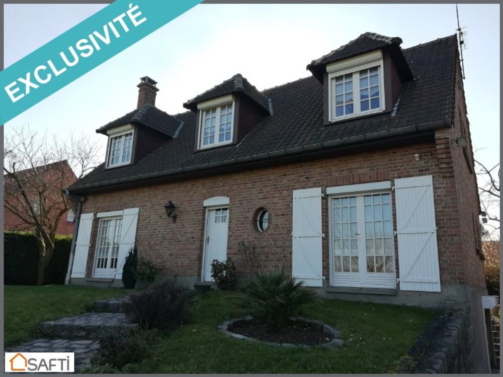 Vente Maison Maison individuelle, 145m², 5 ch, jardin, garage  à Noyelles-les-seclin