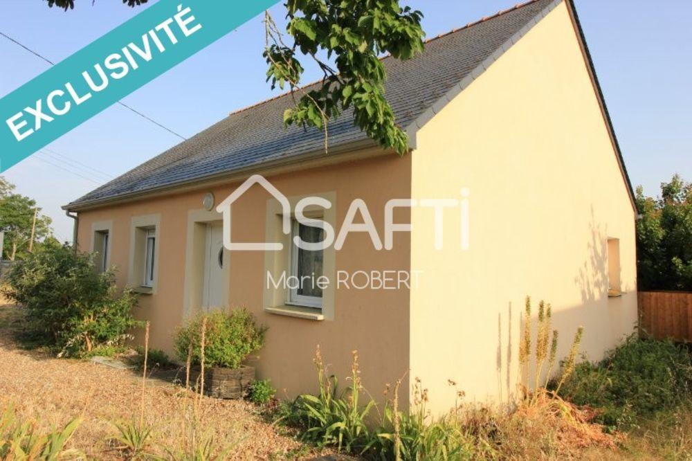 Vente Maison Maison plain-pied non mitoyenne, 3 chambres à 15 minutes d'Angers sur la commune de Briollay  à Briollay