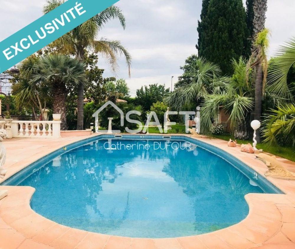Vente Maison La Farlède, maison néo- provençale de 240m2 sur 1800m2 de jardin paysager avec piscine  à La farlede