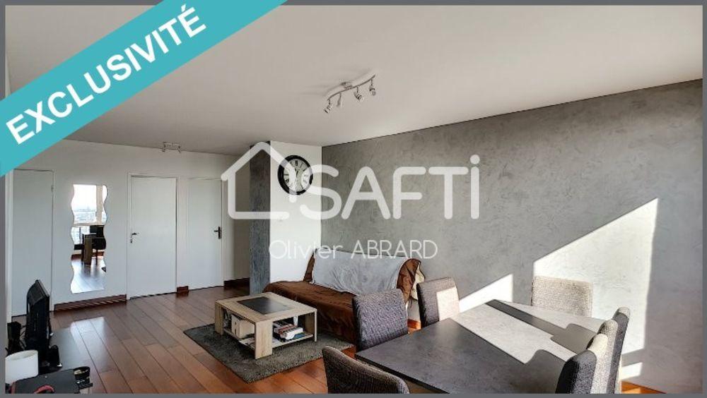 Vente Appartement BEAU T3 DE 67 M2 TRES LUMINEUX ET CALME  à Nantes