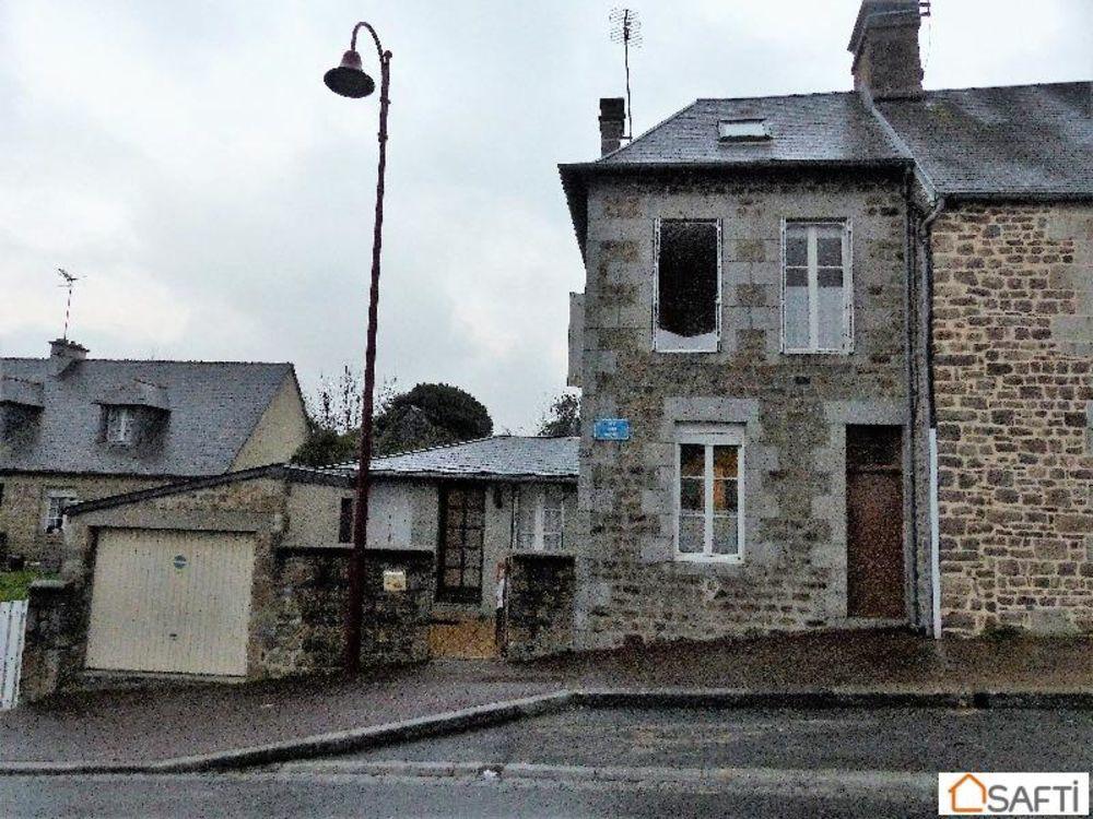 Vente Maison Maison de  ville avec garage  à Villedieu-les-poeles-rouffigny