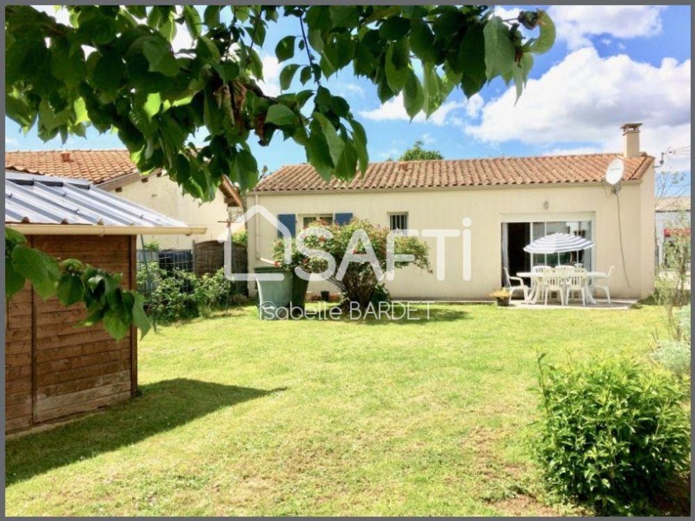 Vente Maison Pavillon 3 chambres-Terrain 599 m2.  à Echillais