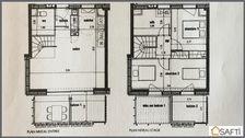 T3 contemporain d'exception en duplex 289000 Bègles (33130)