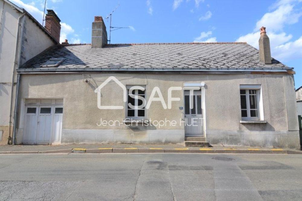 Vente Maison Maison de bourg 54 m² 2 chambres  à Montsurs