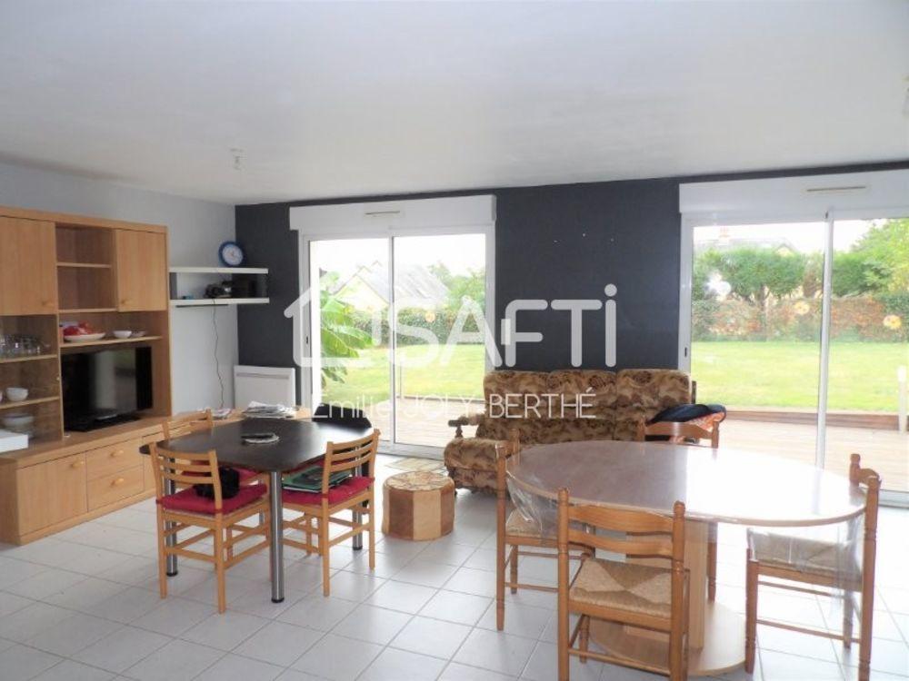 Vente Maison PAVILLON DE PLEIN PIED 85 M², 4 PIECES - SECTEUR MAISONCELLES  à Meslay-du-maine