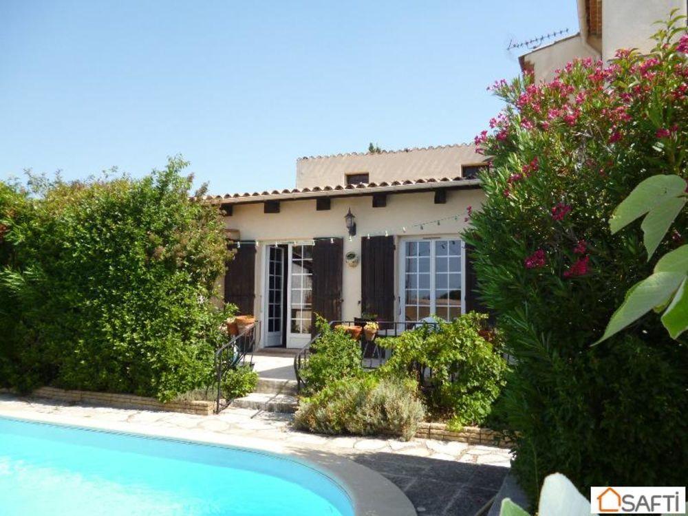 Vente Maison Villa 190m² avec piscine  à La fare-les-oliviers