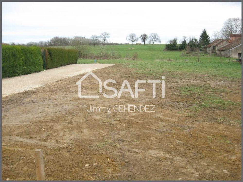 Vente Terrain Terrain constructible de 1125 m² Bonboillon