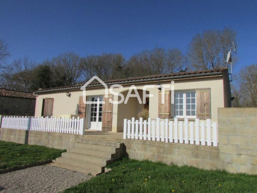 Vente Maison Maison plain-pied 1994 , 95 m² . revenu locatif  à Fenioux