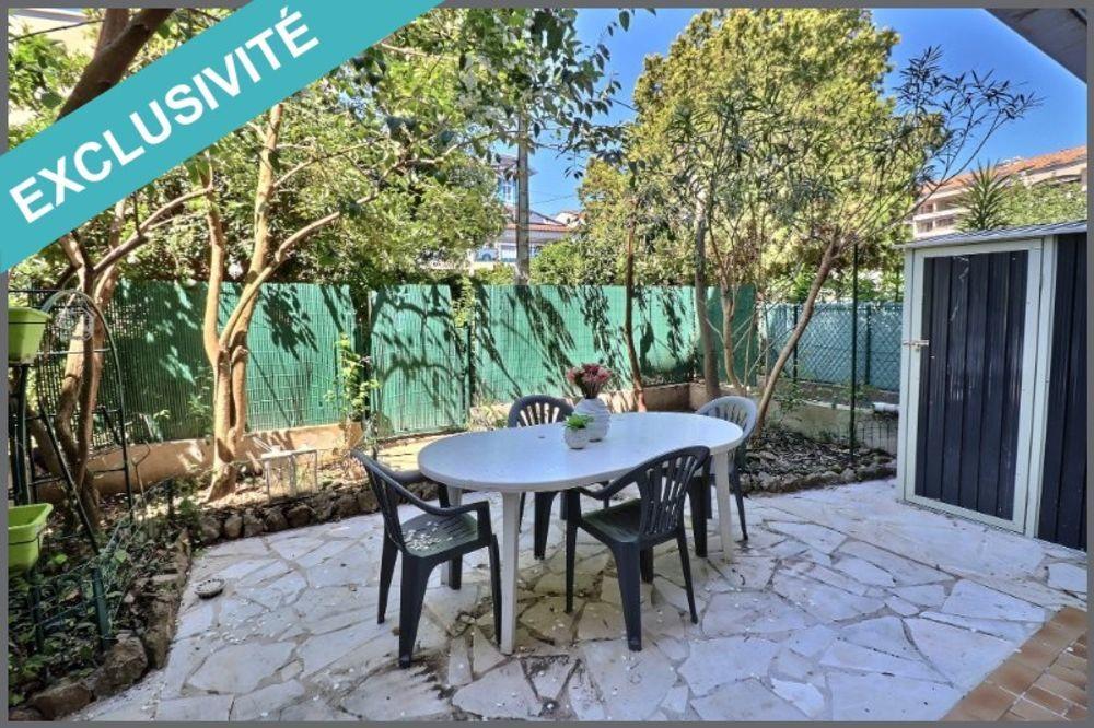 Vente Appartement 2/3 pièces 61m² + Jardin & Parking  à Mandelieu-la-napoule