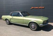 Ford Mustang COUPE V8 TOIT VINYL 18000 Miles d'origine 1968 occasion Jonquières 84150