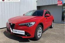 Alfa Romeo Stelvio 2.2 Diesel 180ch Super AT8 JA18 TOuvrant pano Palettes Radar 2018 occasion Huningue 68330