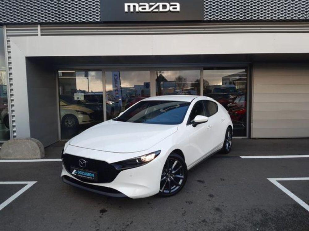 Mazda3 2.0 Skyactiv-G M-Hybrid 122ch Style BVA Evap 6cv 2019 occasion 35510 Cesson-Sévigné