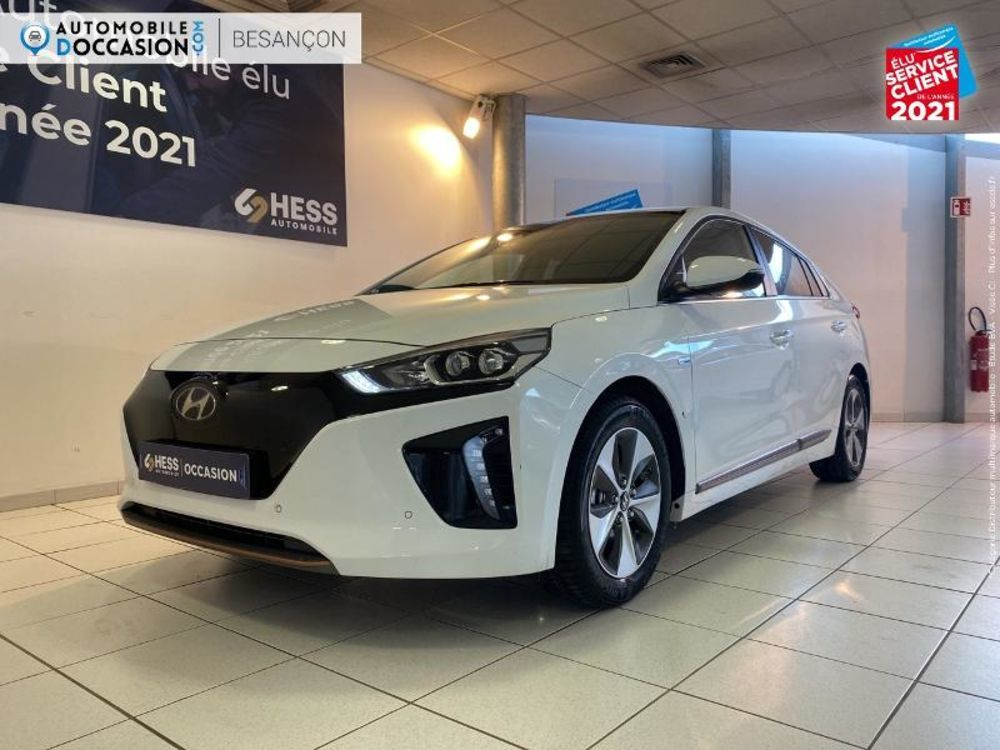 Ioniq Electric 120ch Executive 1ere main Camera GPS Sieges chauf F 2019 occasion 25000 Besançon