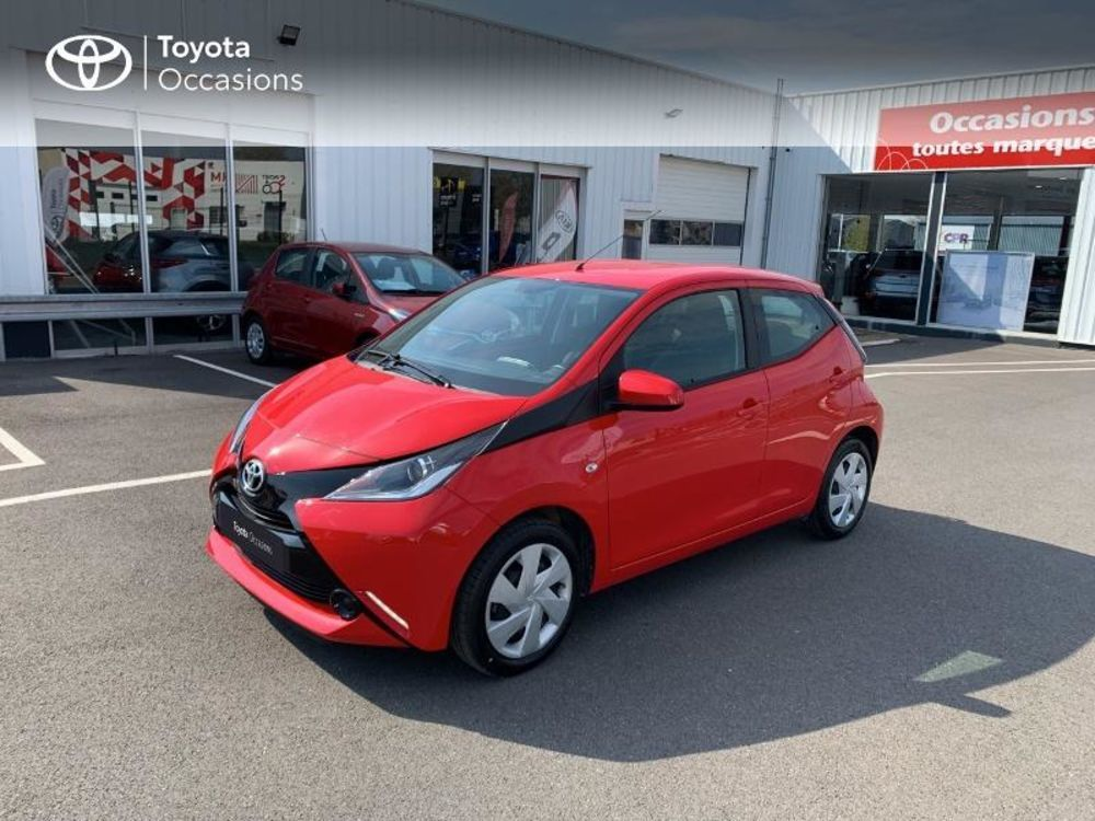 Aygo 1.0 VVT-i 69ch x-red 2018 5p 2018 occasion 51470 Saint-Memmie