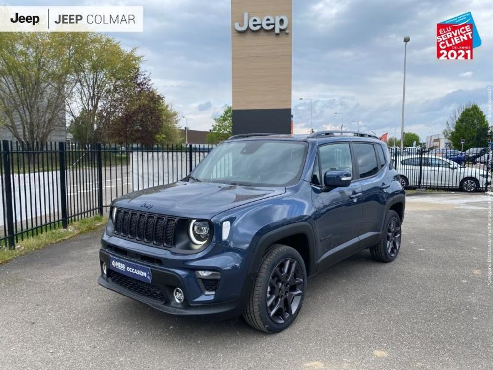Renegade 1.3 GSE T4 240ch 4xe S AT6 2021 occasion 68000 Colmar