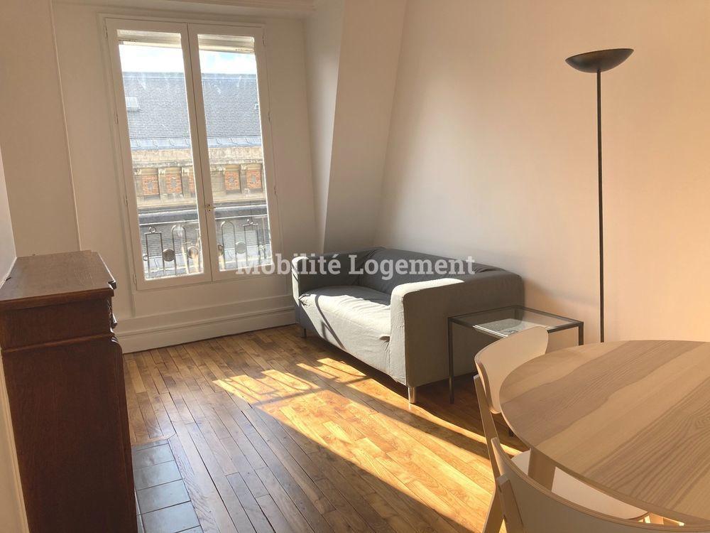 location Appartement - 2 pièce(s) - 48 m² Paris 16