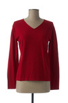 Pull col rond femme Gevana rouge taille : 40 24 FR (FR)
