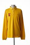 Polo manches longues homme Serge Blanco jaune taille : 3XL 62 FR (FR)