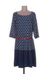 Robe mi-longue femme Divas bleu taille : 40 55 FR (FR)