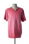 T-shirt manches courtes homme Kaporal rouge taille : XL 14 FR (FR)
