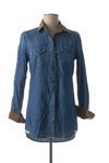 Chemisier manches longues femme Denim &Dress bleu taille : 36 32 FR (FR)