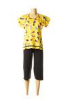 Pyjama femme Rose Pomme jaune taille : 38 33 FR (FR)