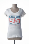T-shirt manches courtes femme Only blanc taille : 36 9 FR (FR)