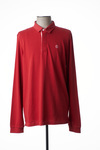 Polo manches longues homme Serge Blanco rouge taille : M 62 FR (FR)