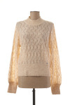 Pull col cheminée femme Pepe Jeans beige taille : 40 39 France (FR)