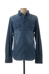 Chemise manches longues homme Pepe Jeans bleu taille : XL 44 France (FR)