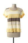 T-shirt manches courtes femme Aldo Martin's jaune taille : 46 39 FR (FR)