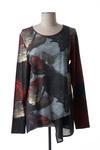 Tunique manches longues femme Crea Concept gris taille : 44 87 FR (FR)