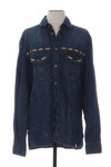 Chemise manches longues homme Galliano bleu taille : M 63 FR (FR)