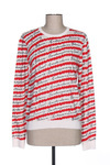Pull col rond femme Scotch & Soda rouge taille : 36 55 FR (FR)