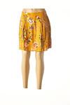 Jupe courte femme Vero Moda jaune taille : 34 14 FR (FR)