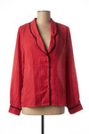 Chemisier manches longues femme Lili & Lala rouge taille : 38 19 FR (FR)