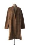 Manteau long femme La Fee Maraboutee marron taille : 42 109 FR (FR)