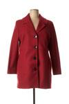 Manteau long femme Zeli rouge taille : 46 69 FR (FR)