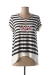 T-shirt manches courtes femme Fuego Woman beige taille : 38 75 FR (FR)